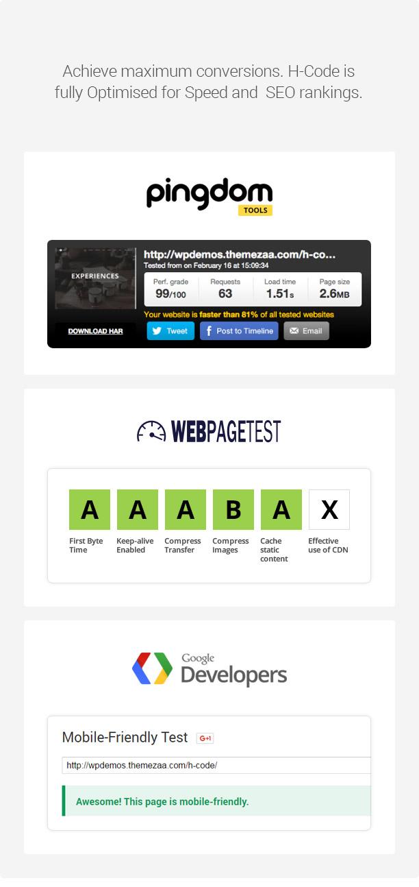 H-Code Responsive & Multipurpose WordPress Theme - 24
