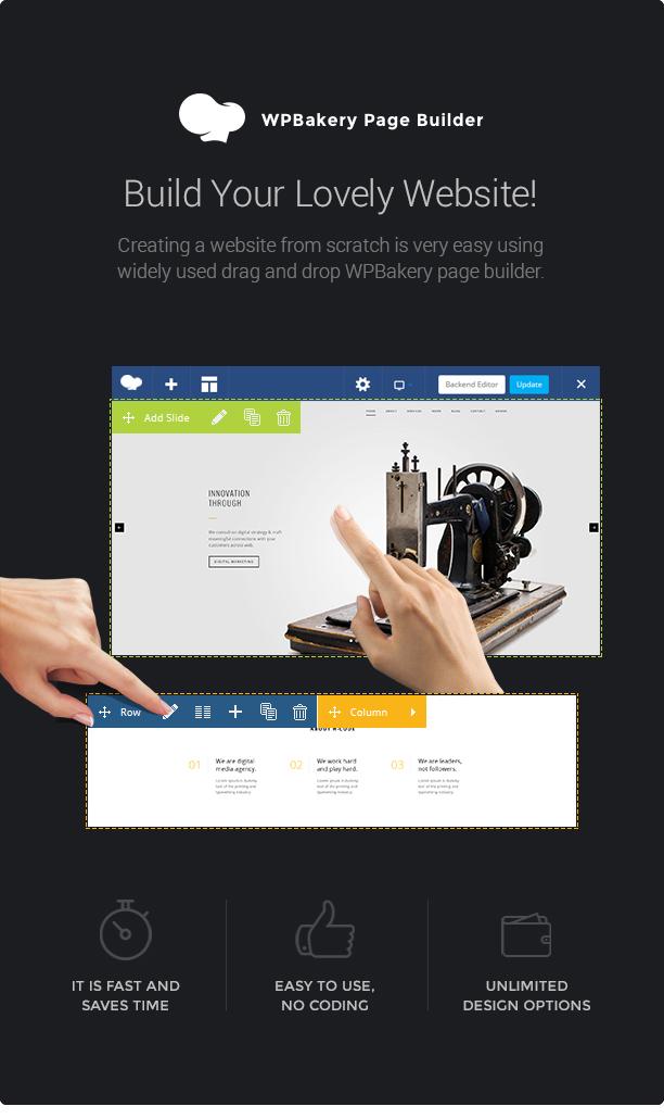 H-Code Responsive & Multipurpose WordPress Theme - 19
